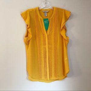 H & M Conscious sleeveless blouse size 10 NWT
